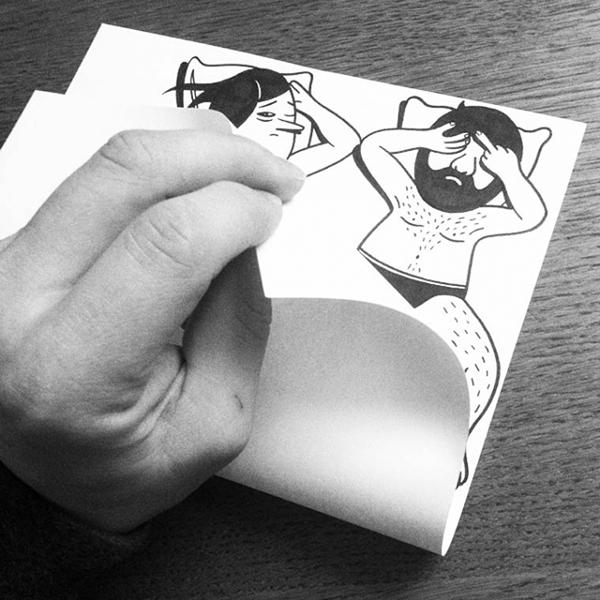 创意纸张设计